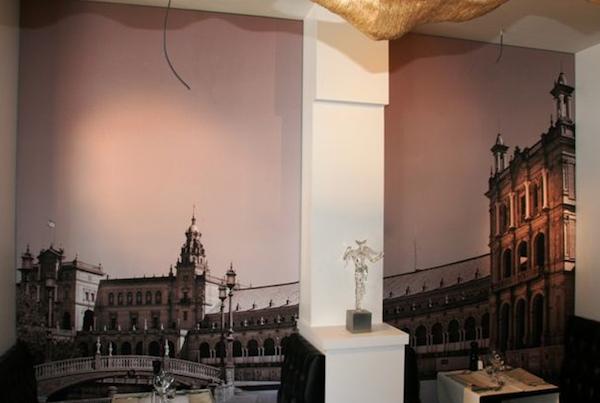 cadre mural polyvalent sur tissu visuel facile changer prix. Black Bedroom Furniture Sets. Home Design Ideas