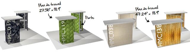 stand module-comptoir