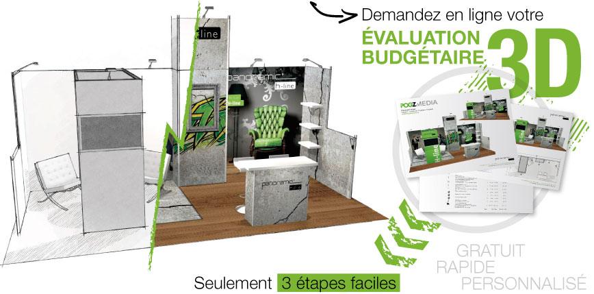 Évaluation stand H-Line