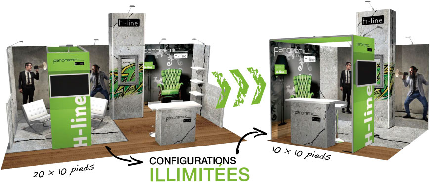 Modules H-Line Configurations illimitées