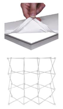 structure stand portatif