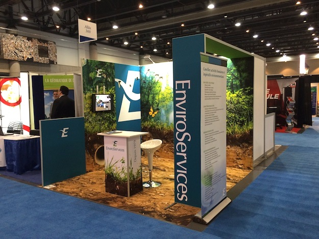 Stand panoramic h-line enviro services