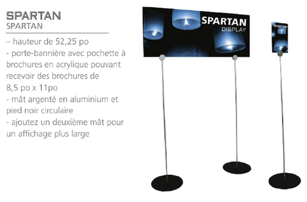 support-affiche